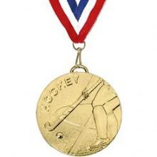 Hockey 50mm Medal